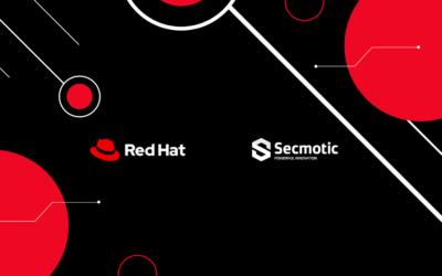 Secmotic cierra acuerdo con Red Hat para integrar sus servicios en FIWOO